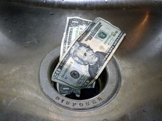 Money in drain