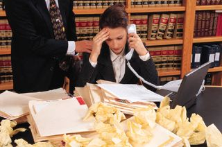 Legal mess
